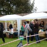 Refreshments on offer at our music event (2014)